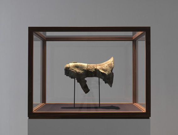 John Isaacs - The Architecture of Empathy, 2014, bronze