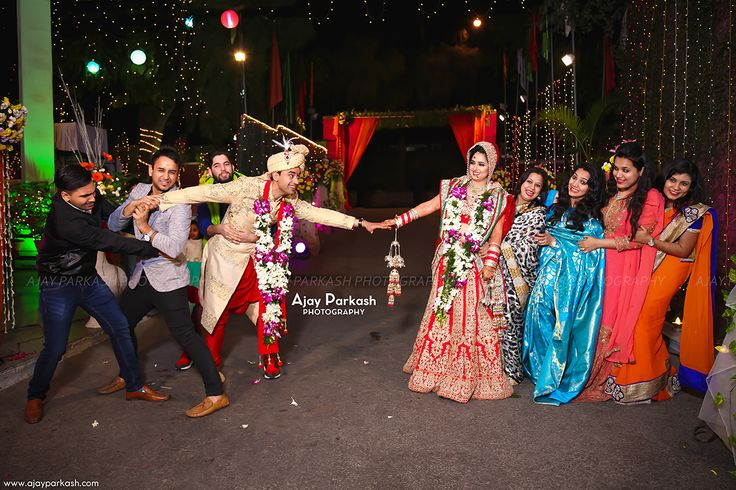 Bride vs Groom - Life gives us many beautiful moments but a perfect click gives you memory forever...