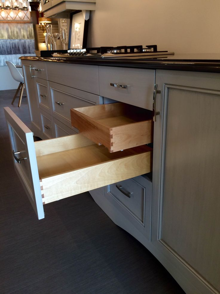 Another Great Storage Solution with this inner drawer feature on display @Station12