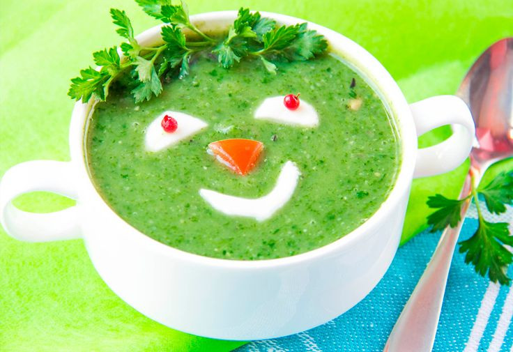 Un puré de verduras muy simpático