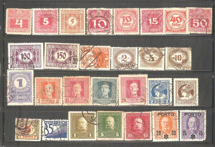 Old Stamps From Austria