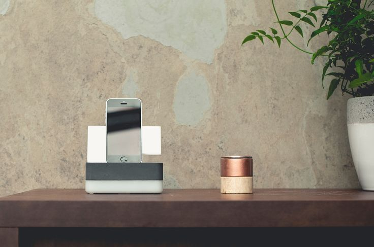 The universal mobile phone charger and dock named Weighty Light is the latest supplementary product of the design studio Remion Design. Product Design by REMION, Budapest