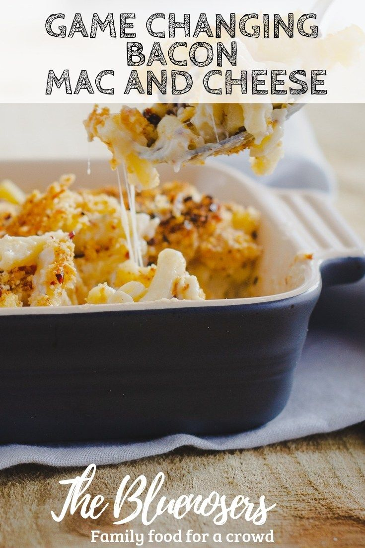 A Family Dinner Winner Baked Bacon Mac And Cheese Recipe This