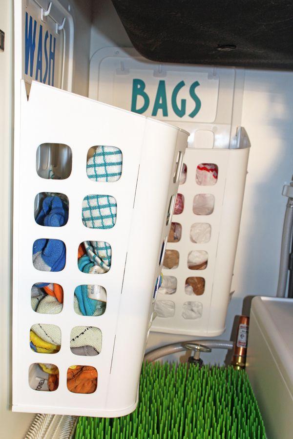 Best Photo Gallery Websites  organizing with style The Best Ways to Organize Under the Kitchen Sink