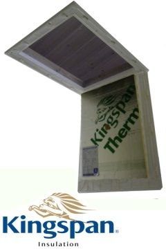 Don't put up with a draughty loft hatch, invest in one of our Insulated Loft Hatch Doors and feel the benefits!