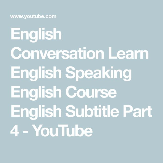 English Conversation Videos with English Lessons