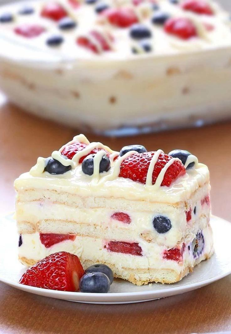 Obtained online.http://cakescottage.com/2016/05/11/no-bake-summer-berry-icebox-cake/