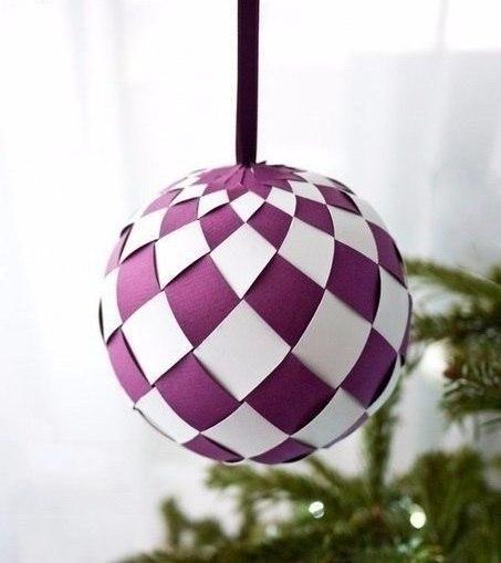 Бумажные шары своими руками фото #1
