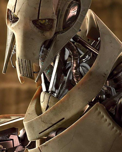 """Listen to me, Jedi! I do not care about your politics. I do not care about your ""Republic. I only live to see you DIE!""--General Grievous"