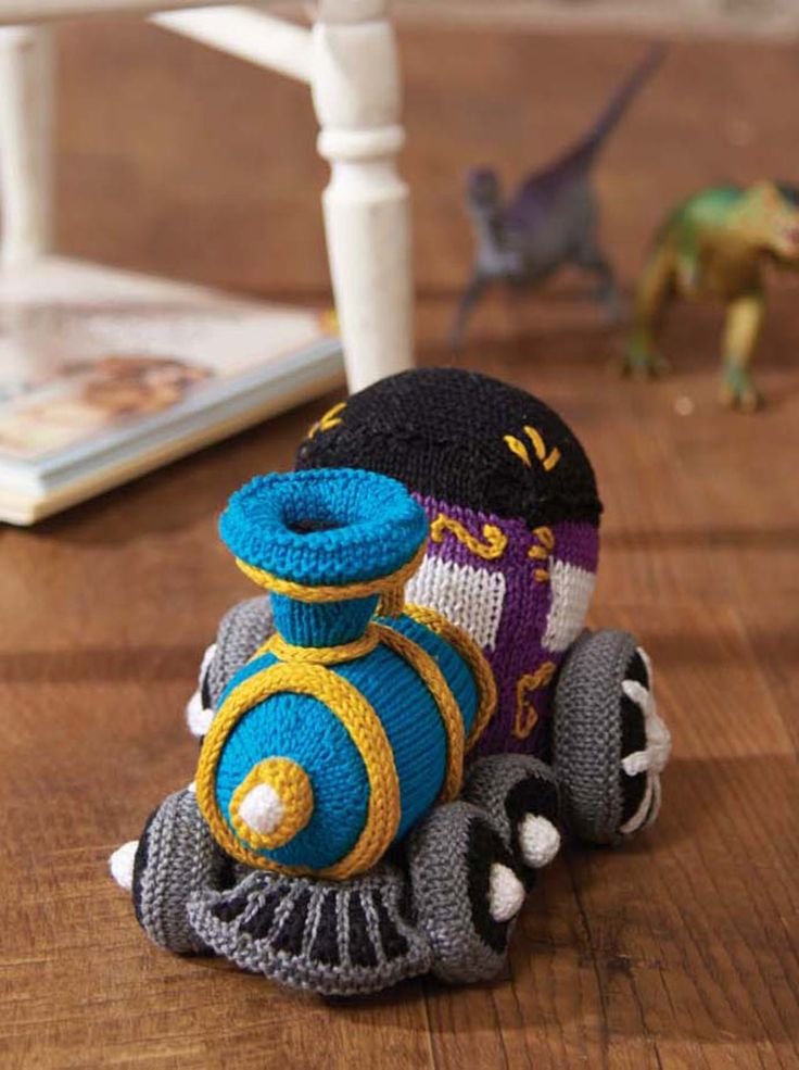 1000+ images about Knitted Toys on Pinterest Free pattern, Cars and Knittin...