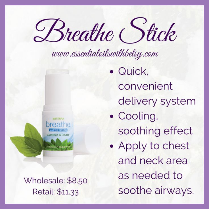 """What is the world is a doTERRA Breathe Vapor Stick?"" It's actually a natural vapor rub. Already in a stick form for convenient usage. More details here!"