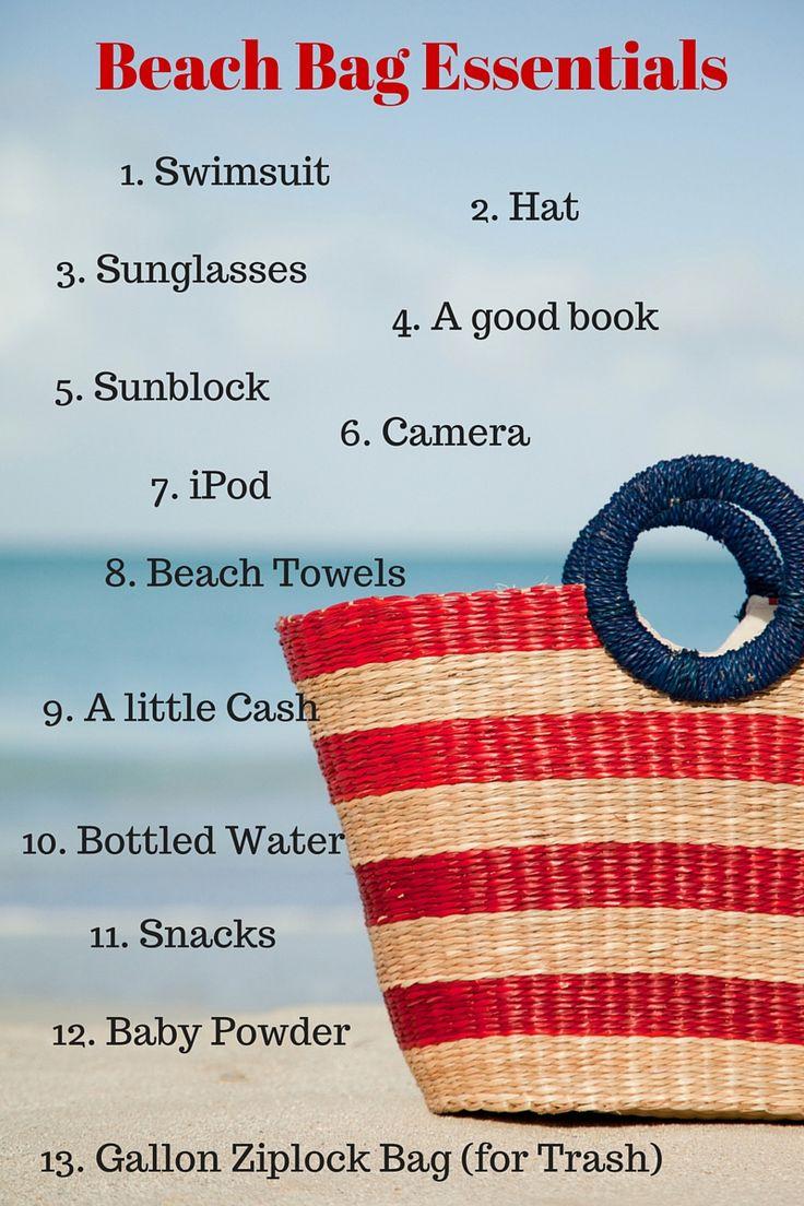 Best 25  Beach bag essentials ideas only on Pinterest | Beach ...