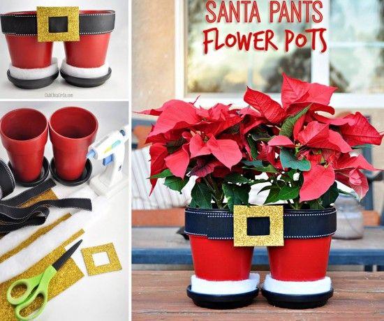 Santa+Pants+Flower+Pots+Tutorial