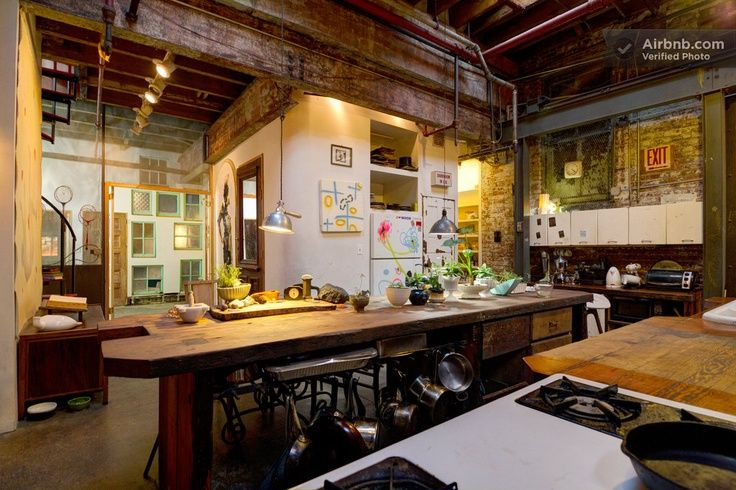 17 best images about lofts industrial mostly on - Warehouse turned into home ...