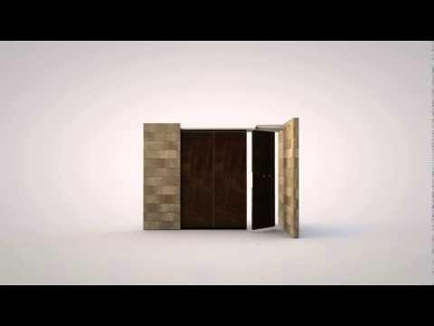 Spijker Vouw- en Paneelwanden - YouTube