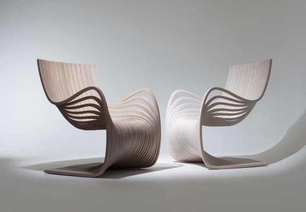 Elegant Wooden Armchair - Pipo