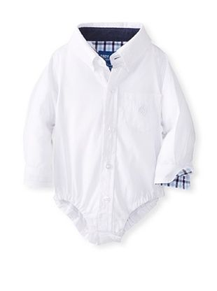 61% OFF Andy & Evan Baby Boy's Little S'Collar Shirtzie (White)