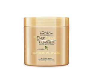 Instantly transform dry, brittle hair into soft,  luscious strands with EverCrème Deep Nourishing Masque. This intensive  treatment penetrates each strand with natural Omega-3 and 6 to infuse moisture  without weighdown, leaving your locks luxuriously silky and shiny.