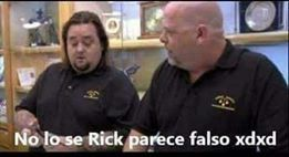 No lo sé Rick, parece falso