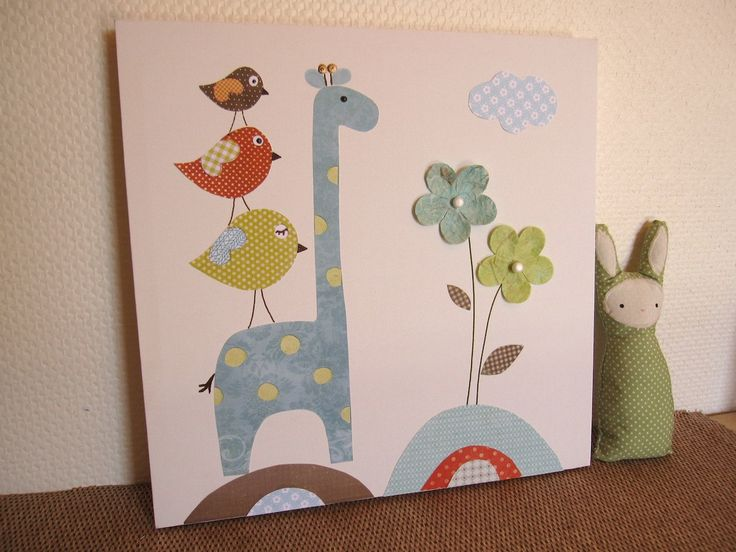 Canvas Art Nursery Decor
