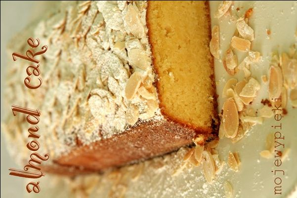 Moje Wypieki | Ciasto migdałowe z cytryną