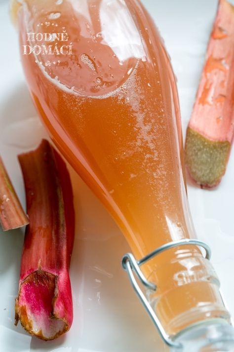 Rebarborový sirup | Hodně domácí