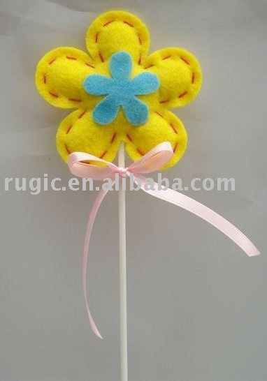 art craft non woven felt Easter flower decoration ornament gifts ... CP: Tracy. art craft non woven