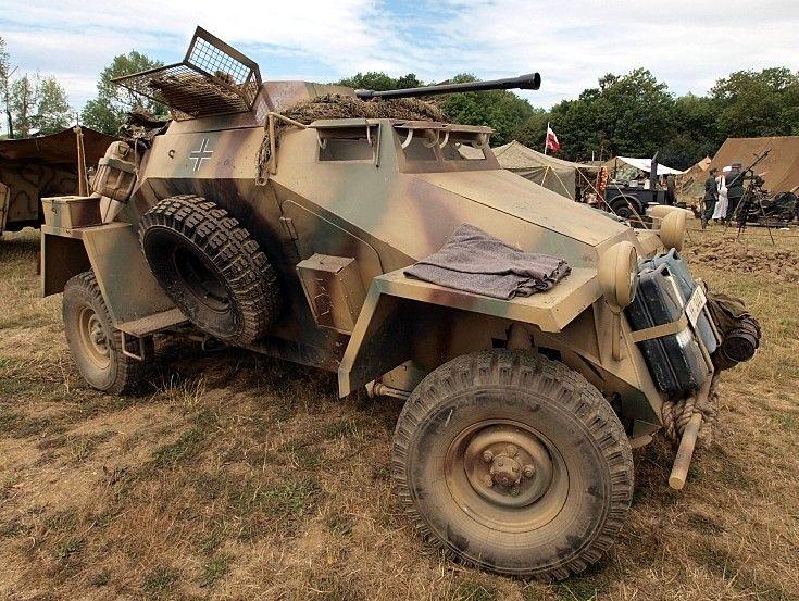 Horch war vehicle
