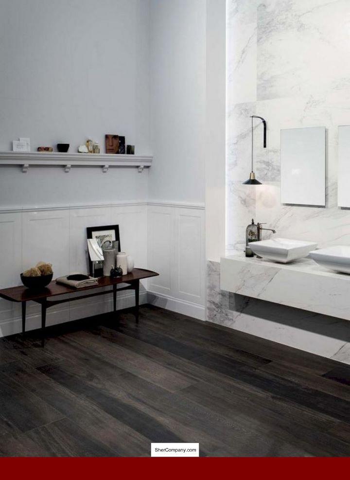 Engineered Hardwood In Bedroom Floor And Woodflooring Wood Tile Bathroom Floor Wood Floor Bathroom Wood Plank Tile
