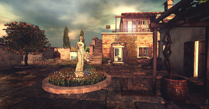 Bella Pace - The yard | by Eria Ziemia