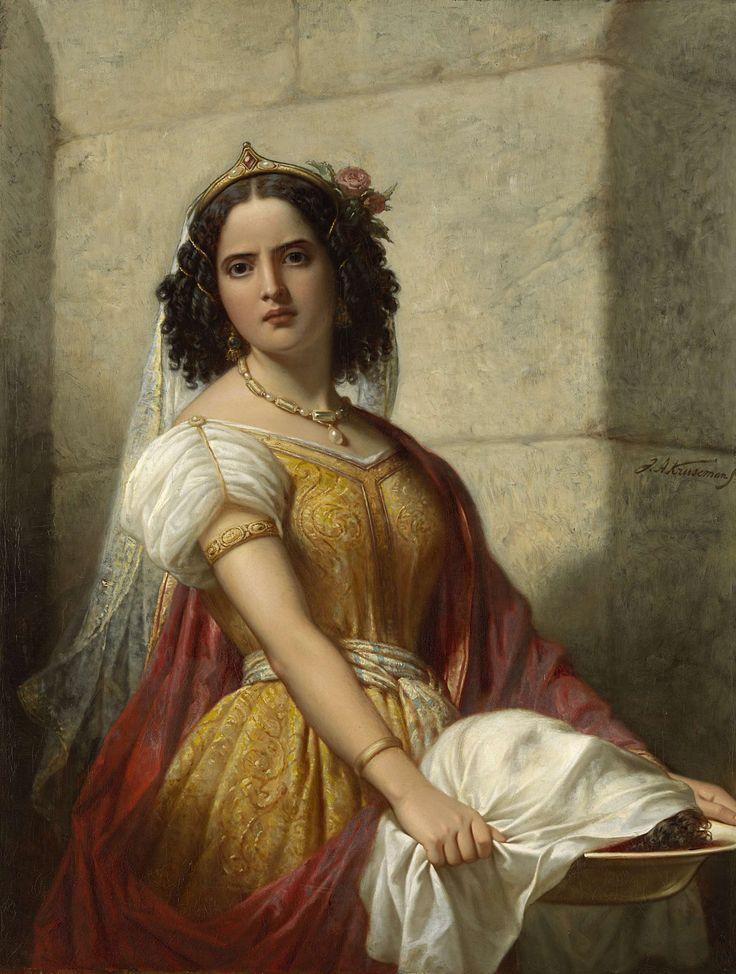 Salomé met het hoofd van Johannes de Doper, Jan Adam Kruseman, ca. 1861, Rijksmuseum
