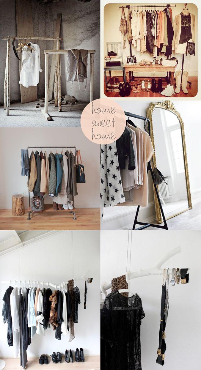 The secret is to dream | BLOG: Nieuwe rubriek • HOME SWEET HOME • Waarom geen kledingrek voor al je mooie kleren en accessoires?