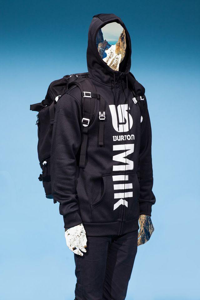Milk Made - Win a Milk x Burton Hoodie & Backpack!