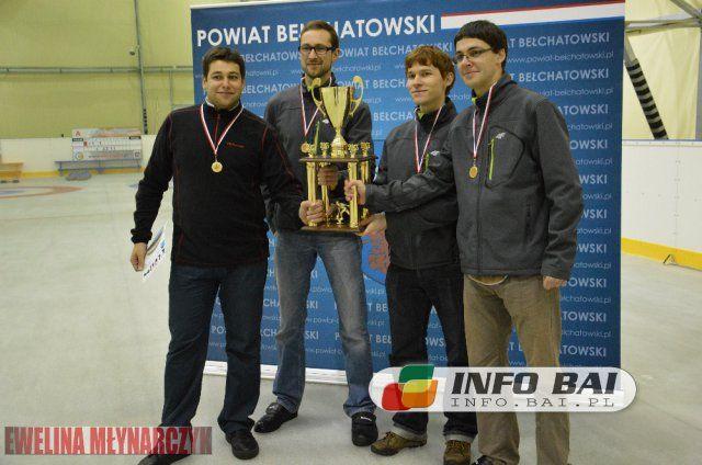 AZS Gliwice Smok zwycięzcami IV Ogólnopolskiego Turnieju Curlingu w Bełchatowie