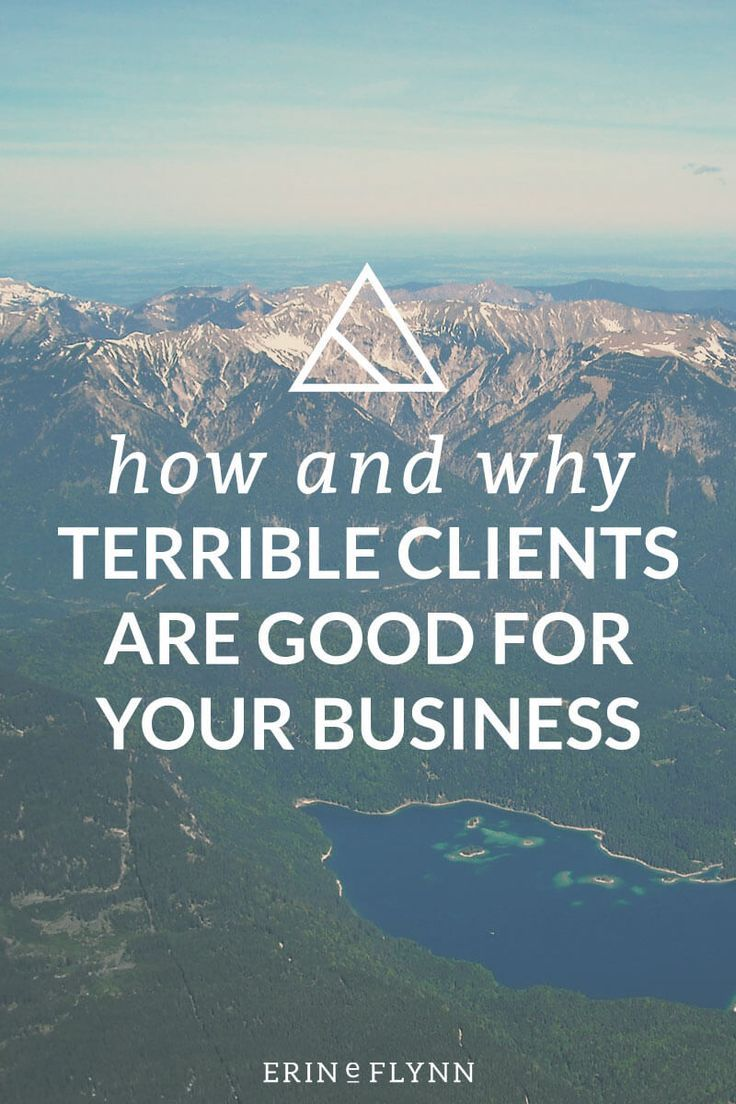 Why that terrible client is actually awesome