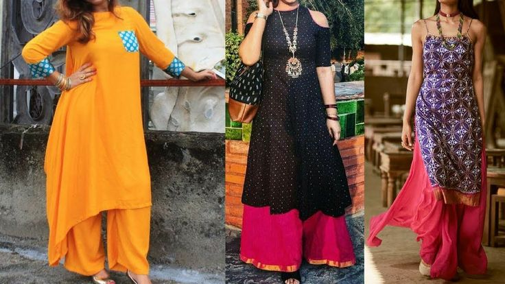 Long Kurti With Palazzo Ideas For Office Wear || Plazo Kurti Designs For...