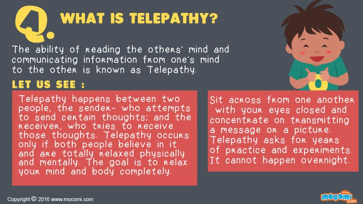 Learn Telepathy Now! - YouTube