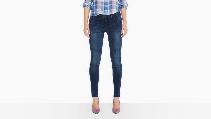 Moto Zip Leggings | 1873 | Jeans | Women | Levi's | Poland