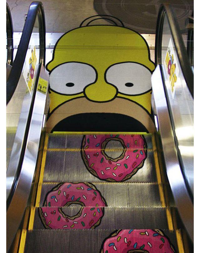 14.) The Simpsons Movie, being kind of menacing.
