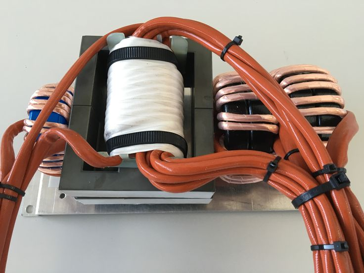 Kit transformers and inductors 9 kw 70 KHz for battery charger