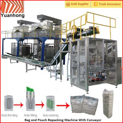 Automatic Packing Line For Industry Automation in the future: Automatic small sachet in big bag Packing Machine(...