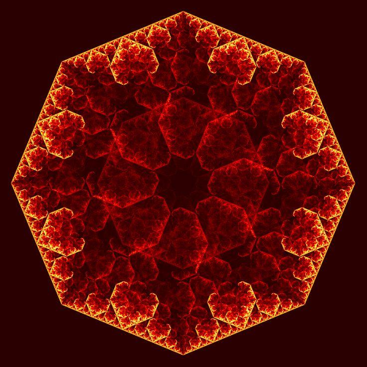 太阳崇拜---64幅由算法生成的八芒星图像 - 叶飞影 - 博客园