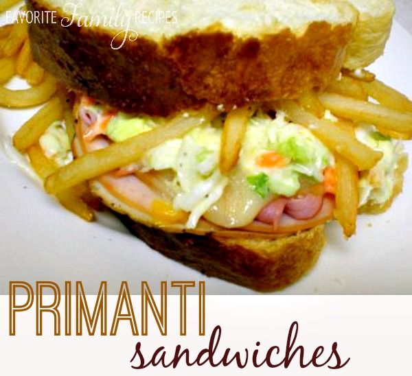 This Primanti sandwich is our version from Primanti Bros - featured on the Travel Channel. #primantisandwich #primantirecipe