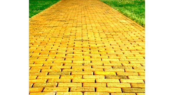 Куда ведет желтая кирпичная дорожка? Ваши ассоциации, как музыкальные, так и не очень..