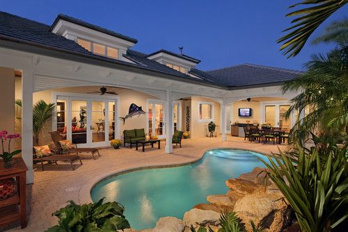New Florida - traditional - pool - other metro - RJS Builders