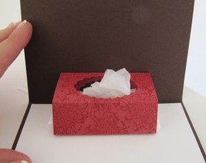Pop Up Tissue Box