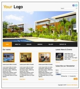 Sample holiday apartments website template - Cheap Cheap Website Design, WebDesign, Elanora, QLD, 4221 - TrueLocal