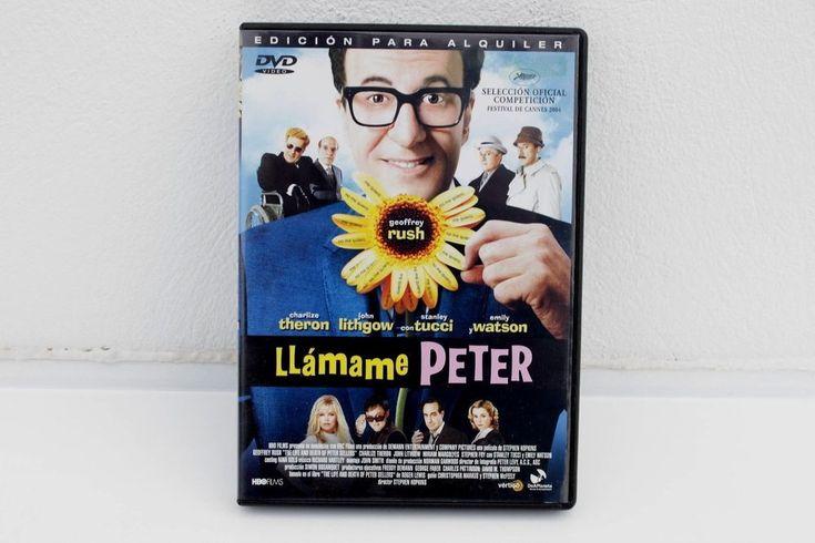 LLÁMAME PETER - GEOFFREY RUSH - CHARLIZE THERON - EMILY WATSON - DVD ED ALQUILER