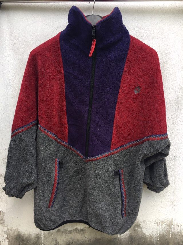 Vintage Jack Wolfskin fleece jacket vintage 90's jack
