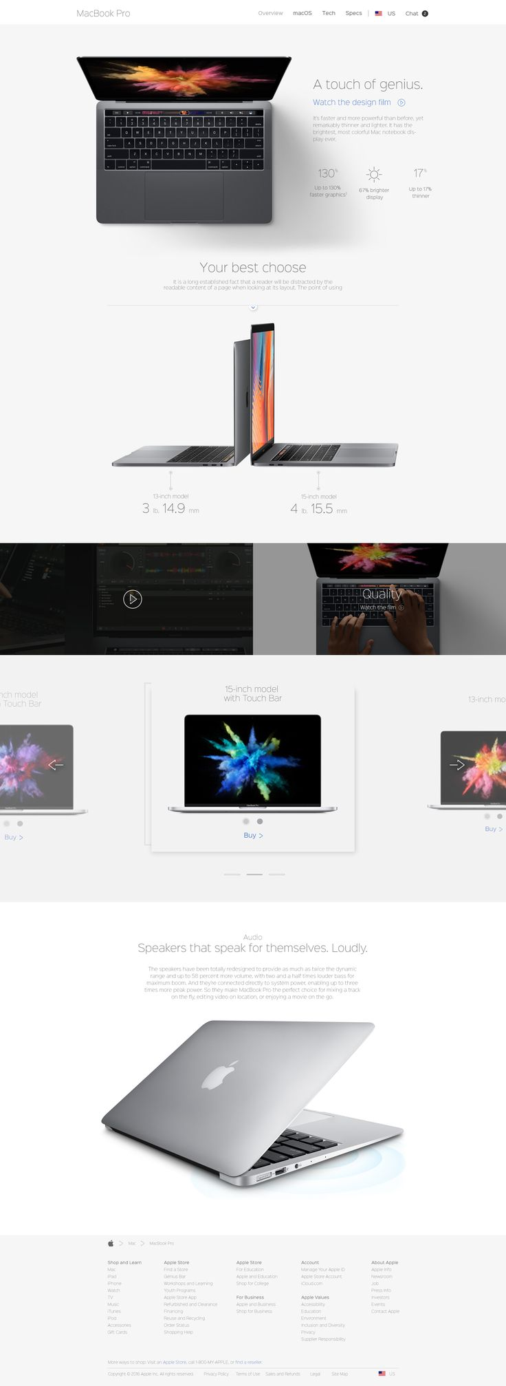 Leanding page template